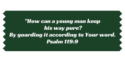 Scripture verse Psalm 119:9