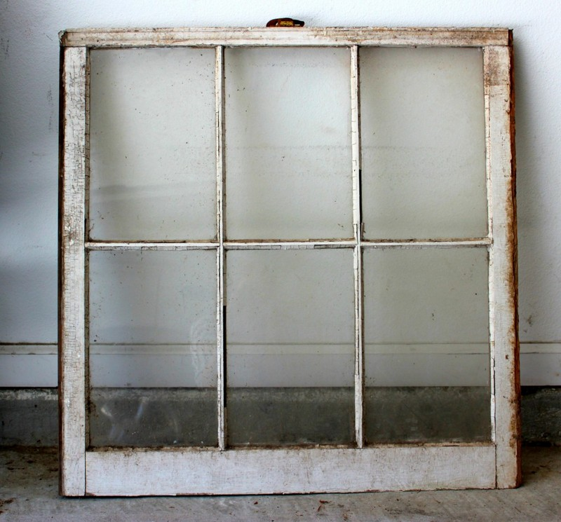 Old Window DIY into Mirror | Satisfaction Through Christ