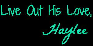 Haylee Optimized Signature