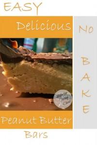 Easy No Bake Peanut Butter Bars   Satisfaction Through Christ