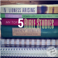 My Top 5 Bible Studies   Satisfaction Through Christ