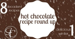 Hot Chocolate Recipe Round Up from STC Blog : 8 Decadent Food Blogger Recipes = 1 Delicious Winter
