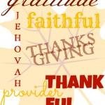Free Thanksgiving Subway Art