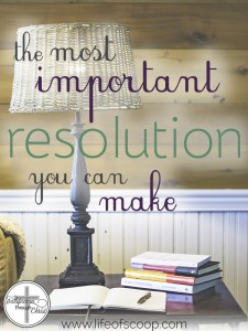 What's the most important resolution to make this year? Christian, it is to determine your worth & identity in Christ! Sure, you can lose weight, determine to read your Bible daily, or attempt to stop yelling at your spouse. But if your identity isn't rooted in Christ, what good are these goals? Start 2016 with this one key goal!