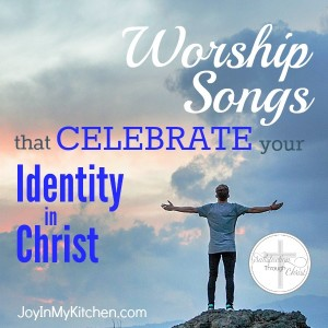 Knowing your identity in Christ can bring you hope, peace & joy even in the midst of trials. Remember who you are with these Scriptures & worship songs.