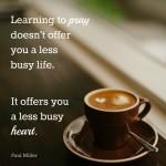 Prayer: An invitation to call home.