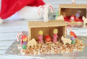 Graham Cracker Nativity